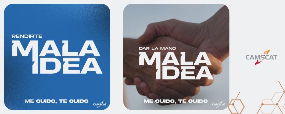 Cámara se sumó a campaña #MalaIdea ante pandemia